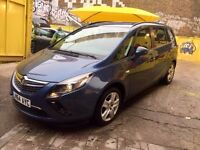 Vauxhall Zafira 1.4 Turbo Exclusive 7 Seater Like Brand New Perfect 9,000 Miles