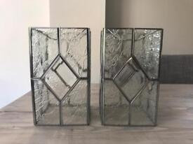 Two Glass Light Shades