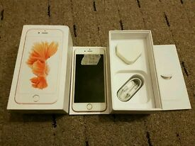 Iphone 6s 64gb rose gold mobile phone unlocked all network