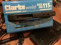 Clarke Arc Welder & mask BRAND NEW UNUSED