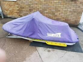 Yamaha waverunner jetski with double trailer