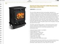 New boxed Baby Gabriel stove Rrp£495 (defra)