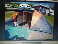Aventura 4 Person tunnel tent & pro Action Asgard Dome 3 man tent