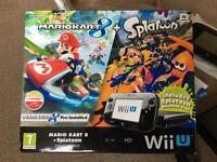 Nintendo Wii U 32 GB console Premium pack with Mario Kart 8 + Splatoon