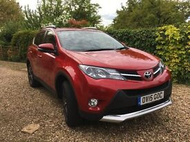 Toyota Rav4 Invincible 2.2D Manual Red, 3 years Toyota warranty, 1 owner, genuine reason for sale
