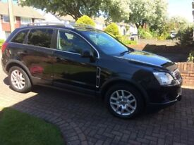 Vauxhall Antara 2.3 Diesel Automatic, Low mileage only 34,000 Brand NEW MOT