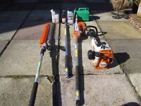 STIHL COMBI CHAINSAW AND HEDGE CUTTER