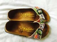Ladies floral Birkenstock sandals size 6