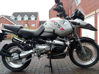 BMW R 1150 GS very equipped