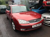 2006 Ford Mondeo MK3 2.0 TDCi 130 Titanium red tango BREAKING FOR SPARES