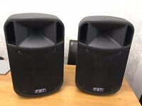 FBT J12A (Pair / X 2) Professional Active Speakers, with Original Covers.