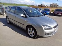 2005 FORD FOCUS 1.6 ZETEC CLIMATE AUTOMATIC 5 DOOR HATCHBACK SILVER 12 MONTHS M.O.T