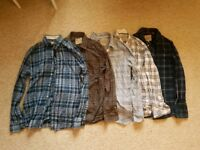 Jack Wills Mens Shirts x 5 Small or X Small