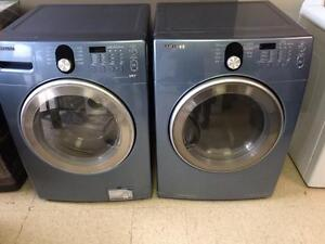 32-SAMSUNG Laveuse Sécheuse Frontales Frontload  Washer Dryer