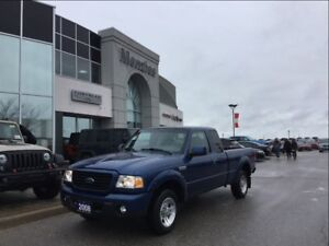 2008 Ford Ranger Sport, ONE OWNER, LOW KM'S, Clean Carproof