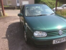 2002 (51 Reg) VW golf SE AUTOMATIC 1595cc 5Door Hatchback
