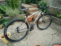 Charge Cooker SS Single Speed 29er Mountain Bike, 2014 Model w/Nukeproof Pedals