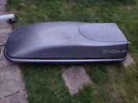 Large exodus car roof box (420-450L) with key