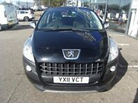 AUTOMATIC!! 2011 11 PEUGEOT 3008 1.6 EXCLUSIVE HDI 5D AUTO 112 BHP **** GUARANTEED FINANCE ****
