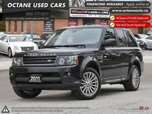 2011 Land Rover Range Rover Sport HSE **No Accidents 1 Owner**