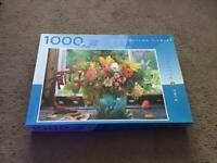 1,000 piece Flower jigsaw puzzle