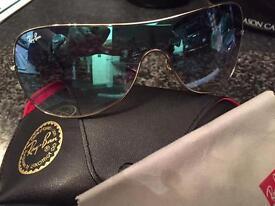 Genuine Ladies Mirror Rayban Sunglasses