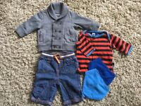 Baby boy bundle up to 4 months