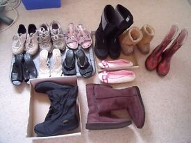 JOBLOT OF LADIES SHOES FOR CAR BOOT OR RE-SALE