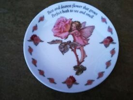 Cicely Mary Barker 2007 Flower Fairy Collectable Plate