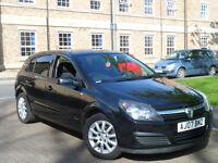 Vauxhall Astra 1.4 i 16v Energy 5dr Black Full Service 12 Months Mot