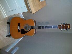 Yamaha FG340 Dreadnought Acoustic Guitar circa 1977