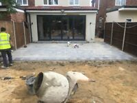 Driveways fencing patio turfing levelling brick block work slabing