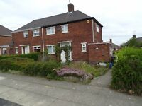 2 bed semi-detached house for rent with rear enclosed garden near to Supertram and local Amenities