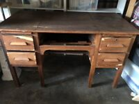 Beautiful Vintage Secretary's Desk - loads of character but in need of some tlc