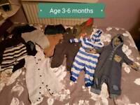 Boys clothes bundle age 3 to 6 months