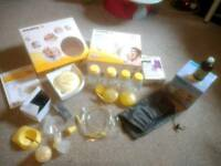 Medela swing electric pump +extra