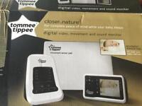 Digital baby cot monitor/sensor/camera