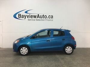 2015 Mitsubishi Mirage ES - AUTO! A/C! BLUETOOTH! PWR GROUP!
