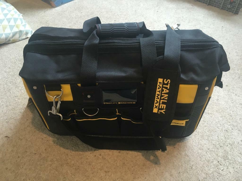 Brand New Stanley fatmax tool bag open mouth 50cm 20inch