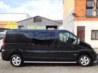 Finance Available & NO VAT! Vauxhall Vivaro LWB Sport 6 seat factory fitted crew cab F/S/H (5)