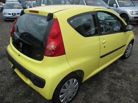 PEUGEOT 107 1.0 Urban 3dr (yellow) 2008