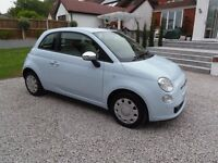A BEAUTIFUL FIAT 500 1.2 POP, ONE LADY OWNER FROM NEW, NEW MOT, TOTALLY UNMARKED THROUGHOUT