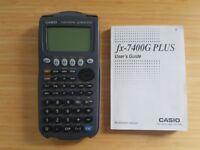 CASIO Graphic Calculator (fx-7400G PLUS)