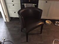 Leather chairs 6 available