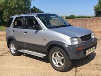 Daihatsu Terios 4x4 new mot off road fun cheap px possible