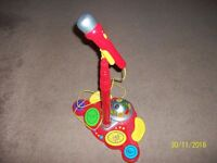 kids microphone music toy lights sounds -nuthall ng6