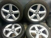 19 inch 5x112 genuine Audi Q5 alloy wheels
