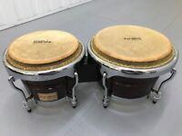 Bongo drums – Tycoon TB800C Concerto Series Percussion Bongos plus Tambourine