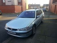 Peugeot 406 2.0 HDI - Diesel Estate tax mot £350 or swap