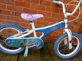 """16"""" wheel frozen bike."""
